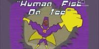 Human Fist On Ice