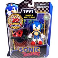 Sonic and Moto Bug Toys