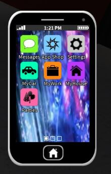 Phone first screen