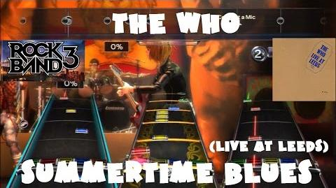 The Who - Summertime Blues (Live at Leeds) - @RockBand DLC Expert FB Playthrough (July 15th, 2008)