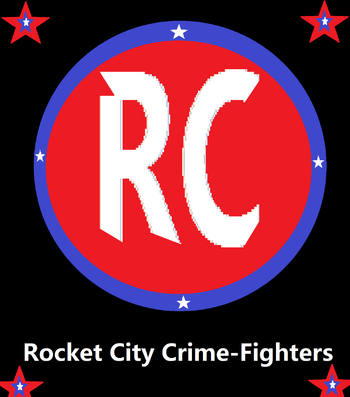Rocket city crimefighters logo