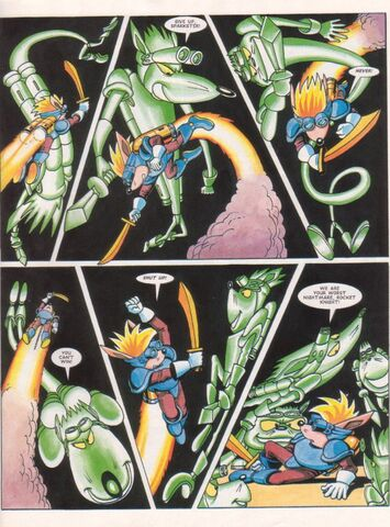 File:Sparkster Last of the Rocket Knights Page 23.jpg