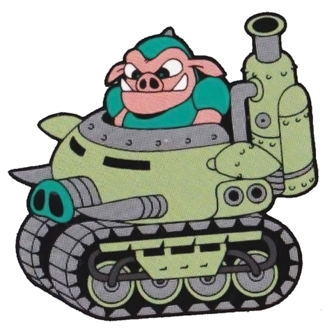 File:Pig Tank (Rocket Knight Adventures Official Artwork).png