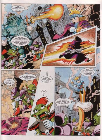 File:Sparkster Last of the Rocket Knights Page 3.jpg