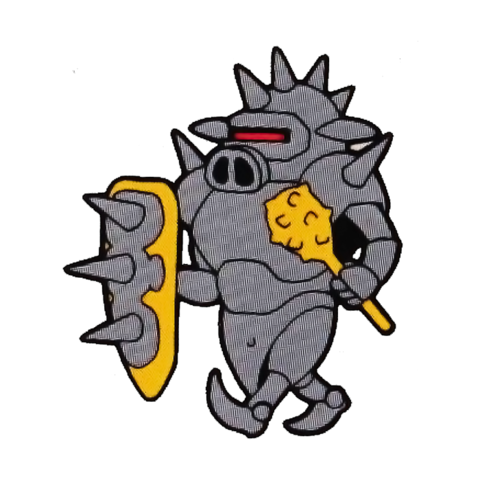 File:Invincible Armored Pig (Rocket Knight Adventures Official Artwork).png
