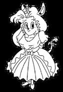 Princess Sherry (Rocket Knight Adventures Europe Manual Line Artwork)