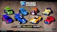 Rocket League Mini Pull-Back Racers