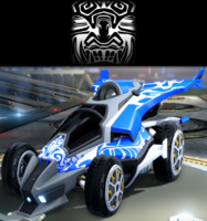 Tribal 1 decal premium