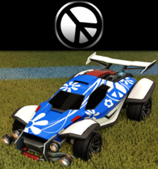 Peace decal import