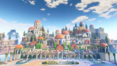 Arena utopia coliseum surroundings