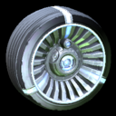 Turbine wheel icon cobalt