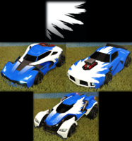 Wings decal import