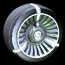 Turbine wheel icon titanium white