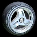 Triplex wheel icon grey