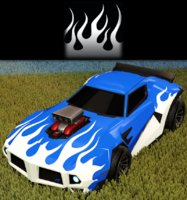 Flames decal import