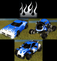 Flames 1 decal premium