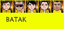 Batak Tribe with name