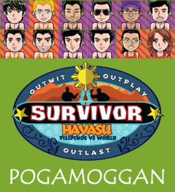 Pogamoggan with name