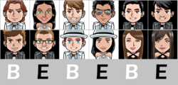 Bebebe Tribe with name