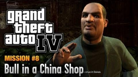 GTA 4 - Mission 8 - Bull in a China Shop (1080p)