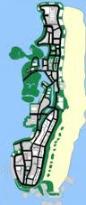 Vice city beach map