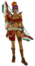 Lilika warrior's clothes