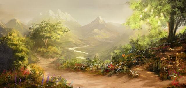 File:Majestic fantasy landscape by jjpeabody-d5osc7c.jpg