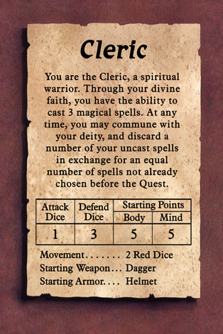 Cleric EDIT
