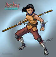Monkey by markatron2k