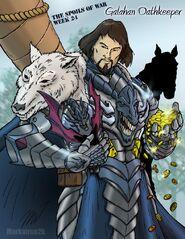 Galahan Oathkeeper by markatron2k