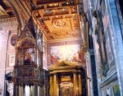 The Gothic Baldacchino and Altar of the Blessed Sacarament
