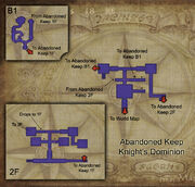 Abandoned Keep map