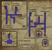 Estamir Tunnels map