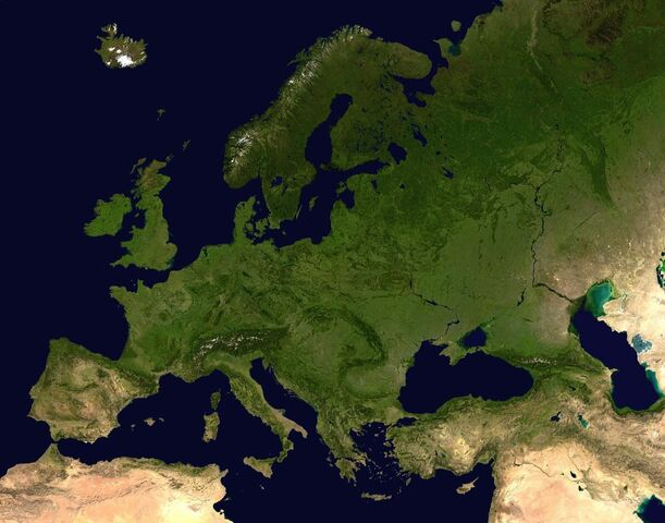 Fișier:Europe satellite orthographic.jpg