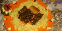 Grape Leaf Rolls with Lamb