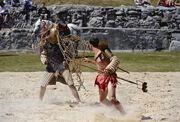 Legionaerspfad Kampf der Gladiatoren