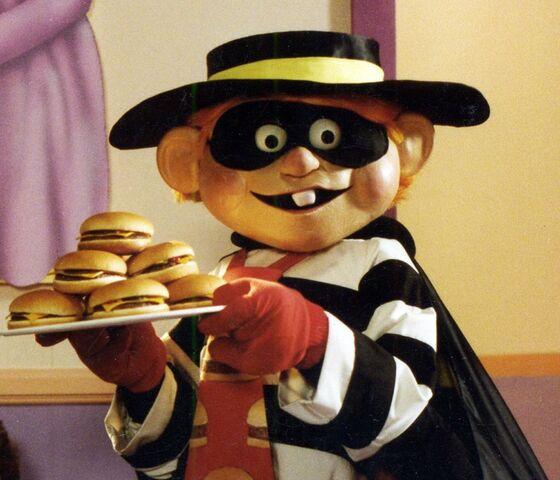 File:Hamburglar & tray of Cheeseburgers.jpg