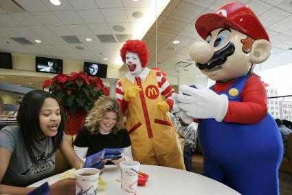 File:Ronald McDonald and Mario.jpg
