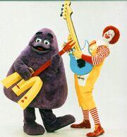 Ronald & Grimace