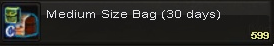 Med size bag(30days)