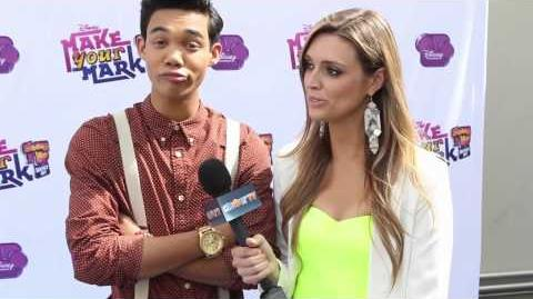 "Roshon Fegan Interview - ""Make Your Mark Shake It Up Dance Off"""