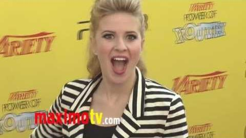Caroline Sunshine at Variety's 5th Annual Power of Youth Event ARRIVALS