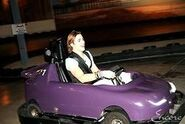 Rocky Lynch Go-Carting