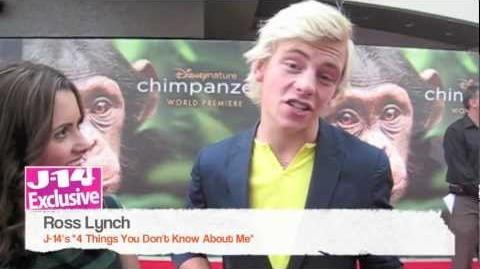 J-14 Exclusive 4 Things You Don't Know About Ross Lynch