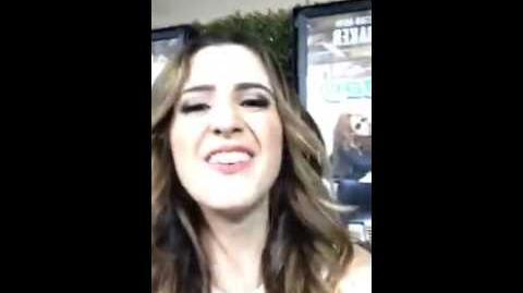 "Laura Marano & Ross Lynch Premier ""Bad Hair Day"""