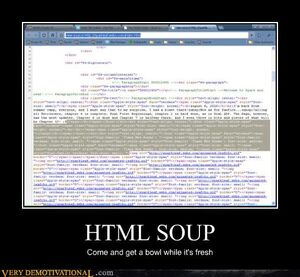 HTML-soup