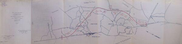 Déviation de Pougues les Eaux RN7 1961