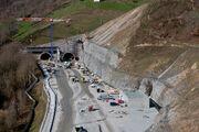 A89 - Travaux Tunnel de Violay