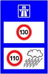 Limitation vitesse autoroute