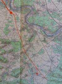 A6 1956 Fontainebleau détail